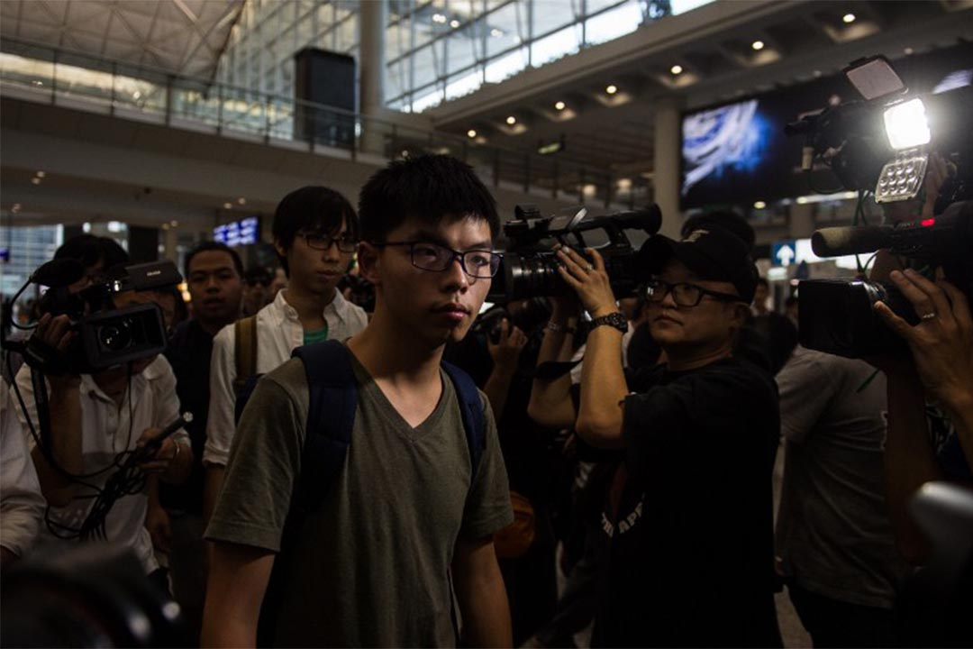 2016年10月6日,香港眾志秘書長黃之鋒被泰國當局拒絕其入境,扣留十多小時後,被遣返回港。