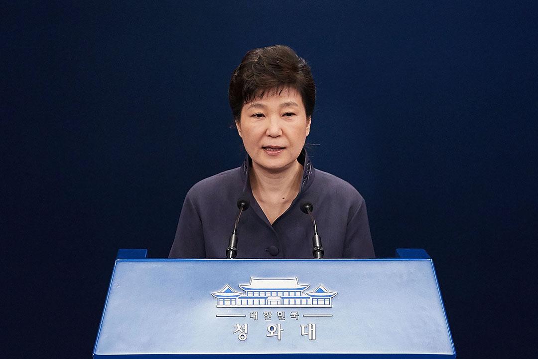 韓國總統朴槿惠。