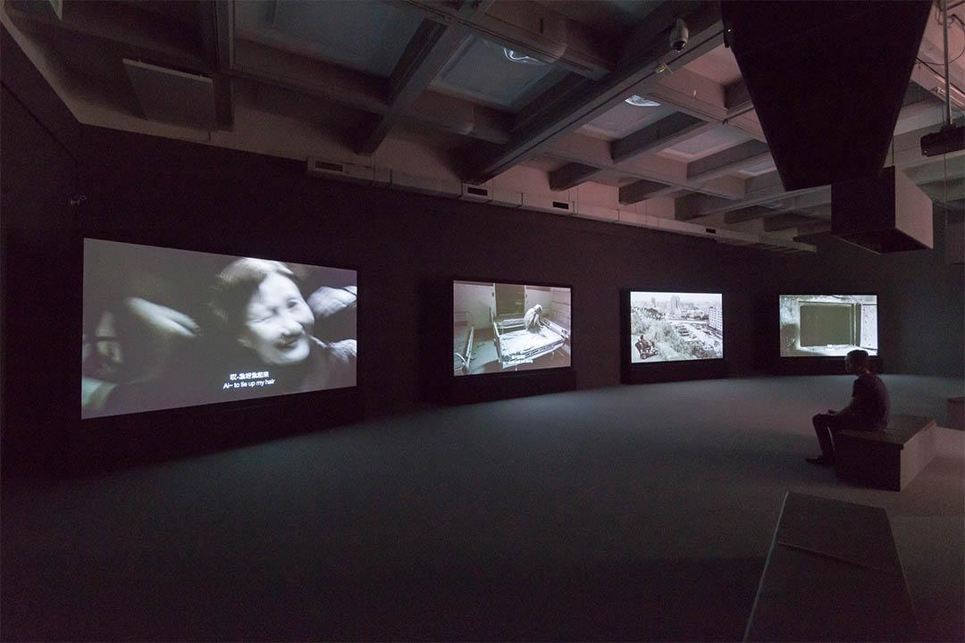 台北雙年展展場照。