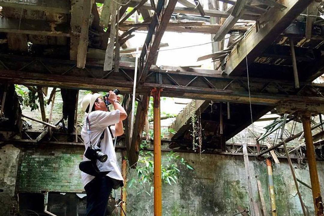 渡邉義孝最喜歡台南的日式建築。