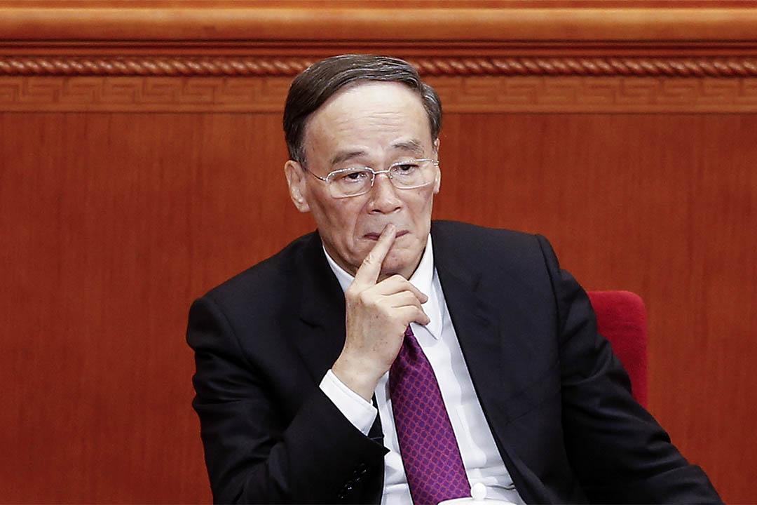 2016年3月3日,中紀委書記王岐山出席中國人民政治協商會議的開幕儀式。