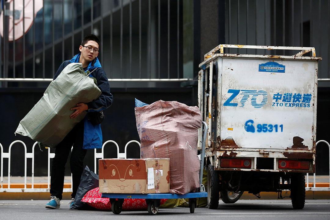 中通快遞到美國上市,成為今年在美國IPO規模最大的公司。