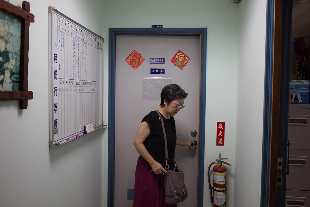 心理系教授兼社會科學院院長夏林清。