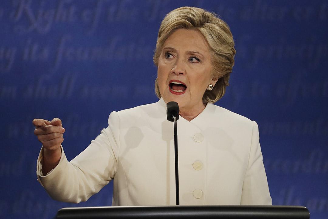 民主黨候選人希拉莉(Hillary Clinton)。