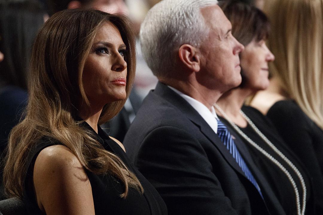 特朗普妻子梅拉尼婭(Melania Trump)。