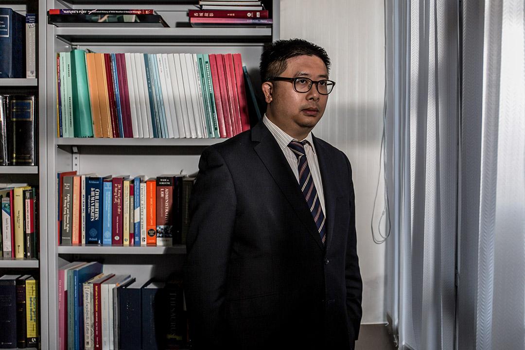 曾經協助斯諾登的香港律師文浩正(Jonathan Man)。