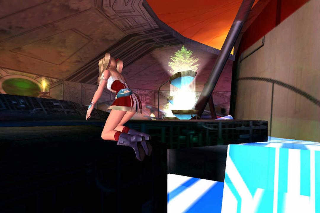 《慾望之血》系列,發生在外太空的科幻類 H Game。