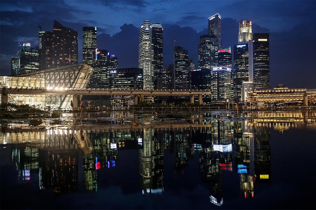 新加坡夜景。