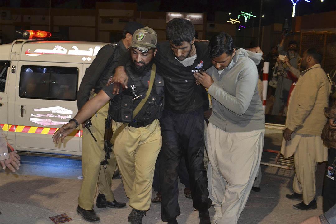 巴基斯坦西南部城市奎達(Quetta)一所警察培訓學校遭到武裝分子襲擊。