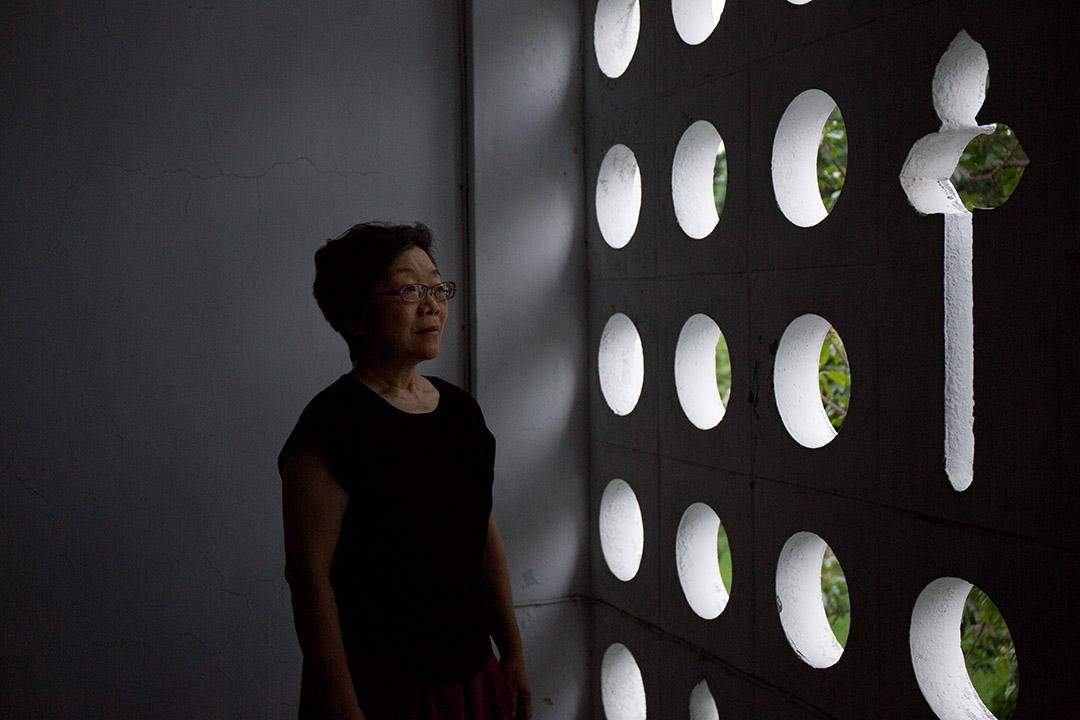 輔大心理系教授夏林清。