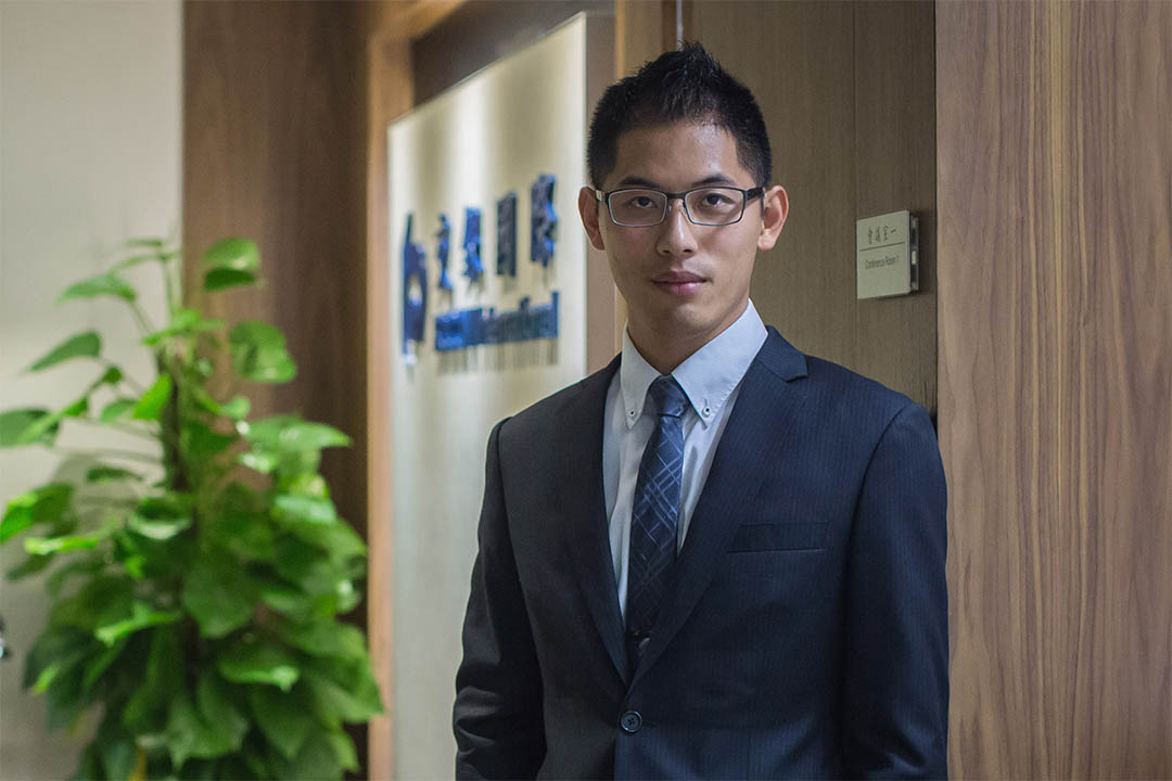 交通銀行國際中國房地產研究助理副總裁謝騏聰。