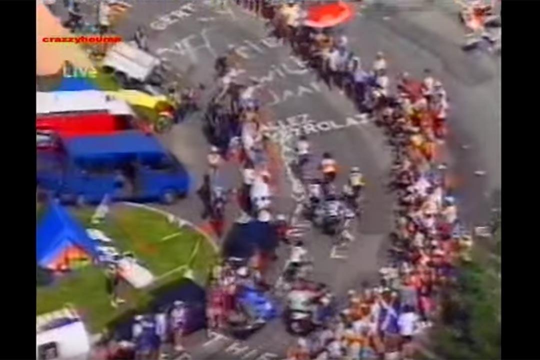 1992年的法國單車賽。