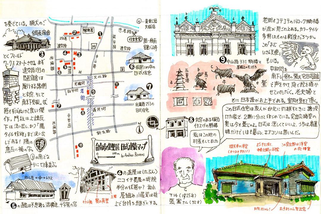 隱身台南佳里區的日式建築尋寶圖。