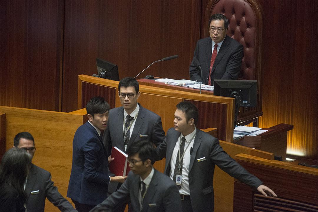 立法會主席梁君彥。