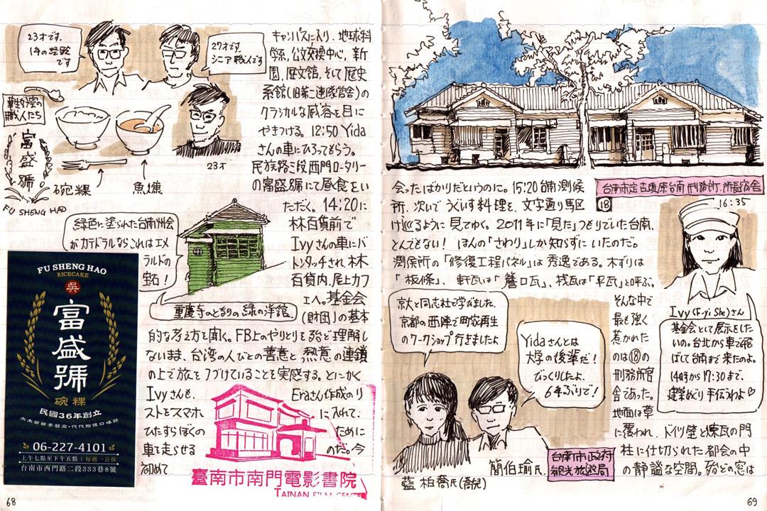 渡邉義孝的手稿。