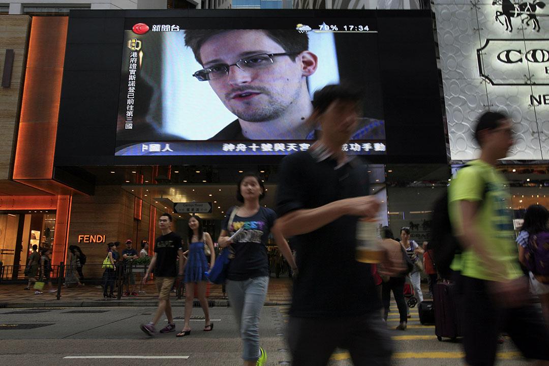 被美國政府通緝的斯諾登(Edward Snowden),在2013年曾匿藏香港近一個月。