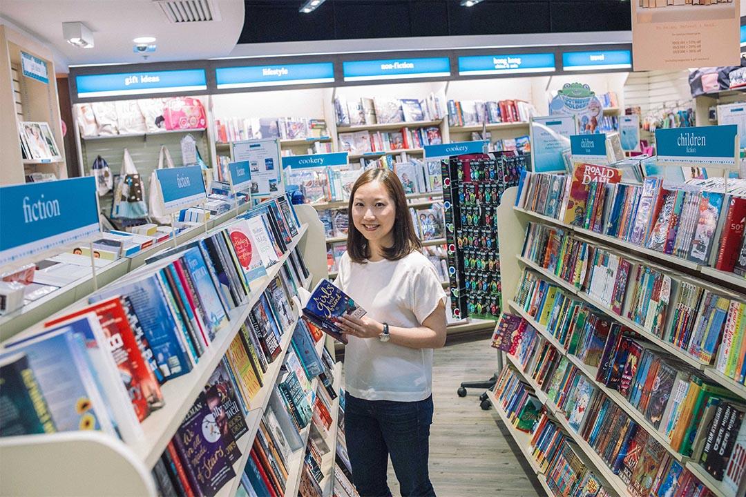 英文書店Booktique的店主Karen。