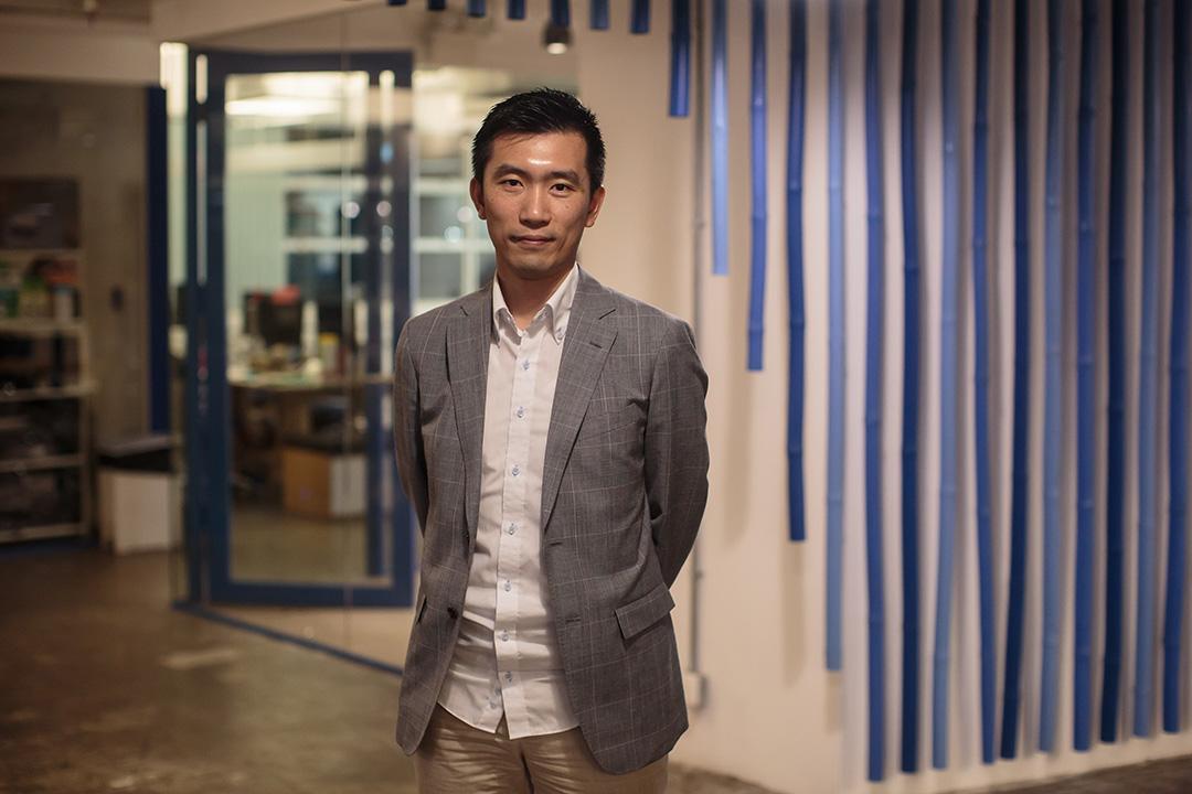 「公民數據」發言人、《雷動聲納》民意調查系統設計者之一趙智動。