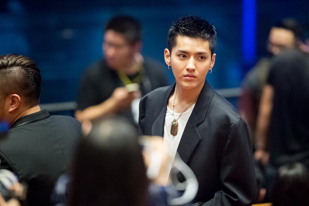 吳亦凡出席第19屆上海電影節。