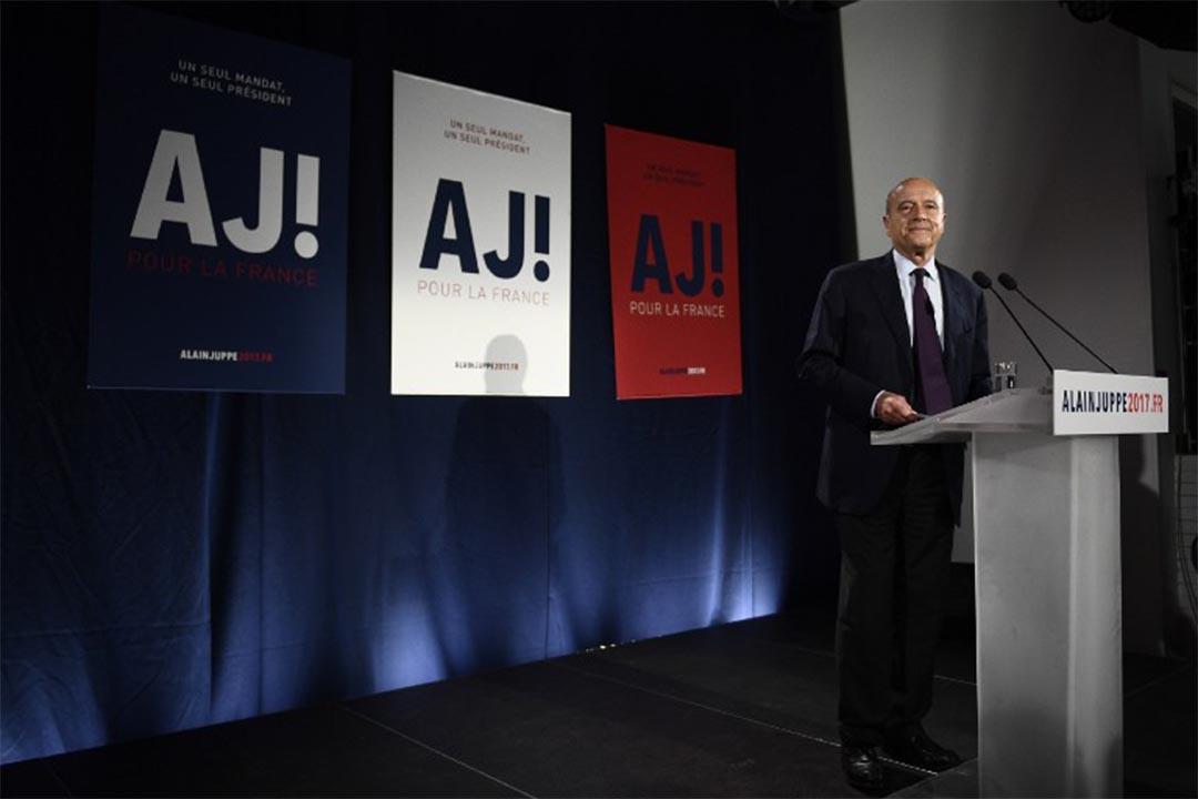 Alain Juppe。