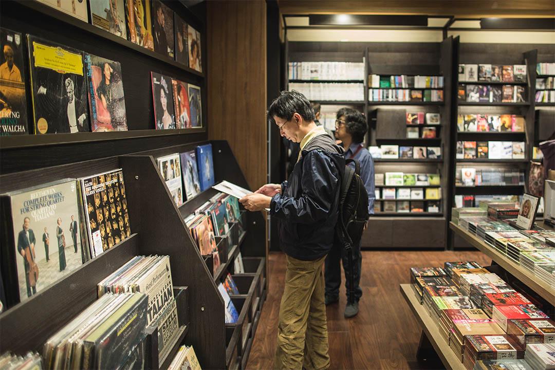圖為香港誠品書店太古分店。