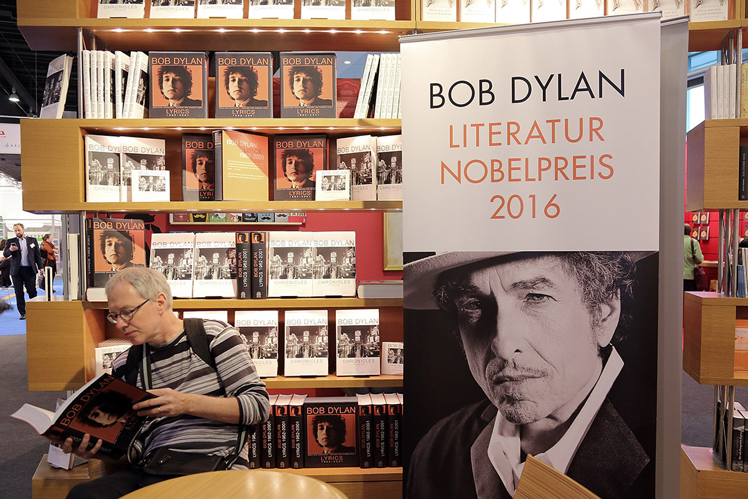 獲得今年諾貝爾文學獎的Bob Dylan 將不出席諾貝爾頒獎典禮。