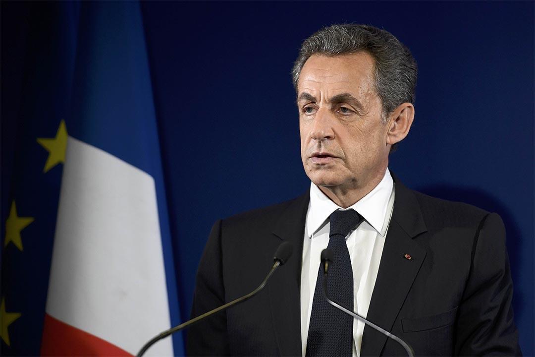 Nicolas Sarkozy。