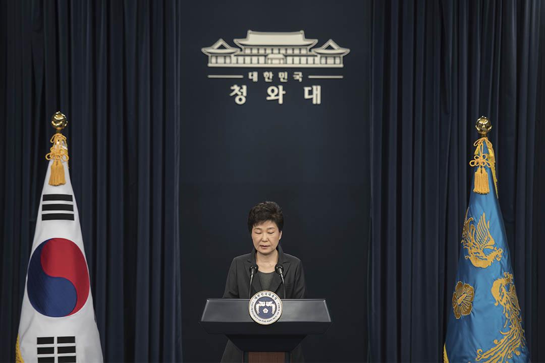 2016年11月4日,南韓總統朴槿惠向全國交代並致歉。