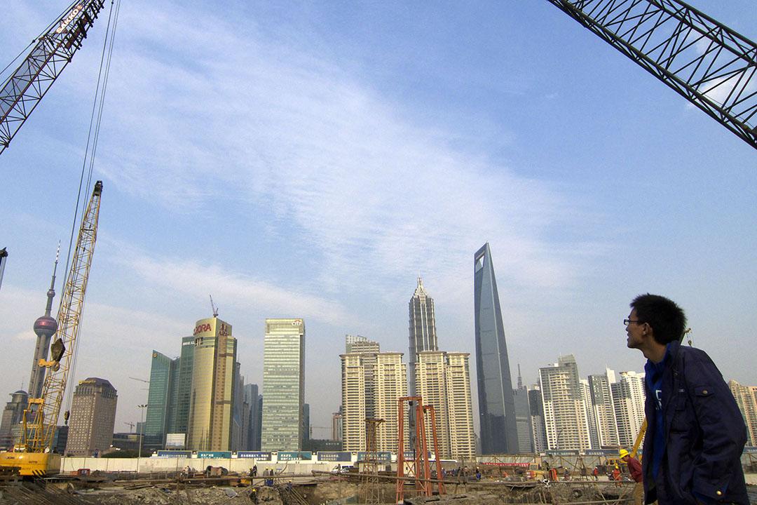不適之地,台灣文化工作者在大陸。圖為上海外灘。