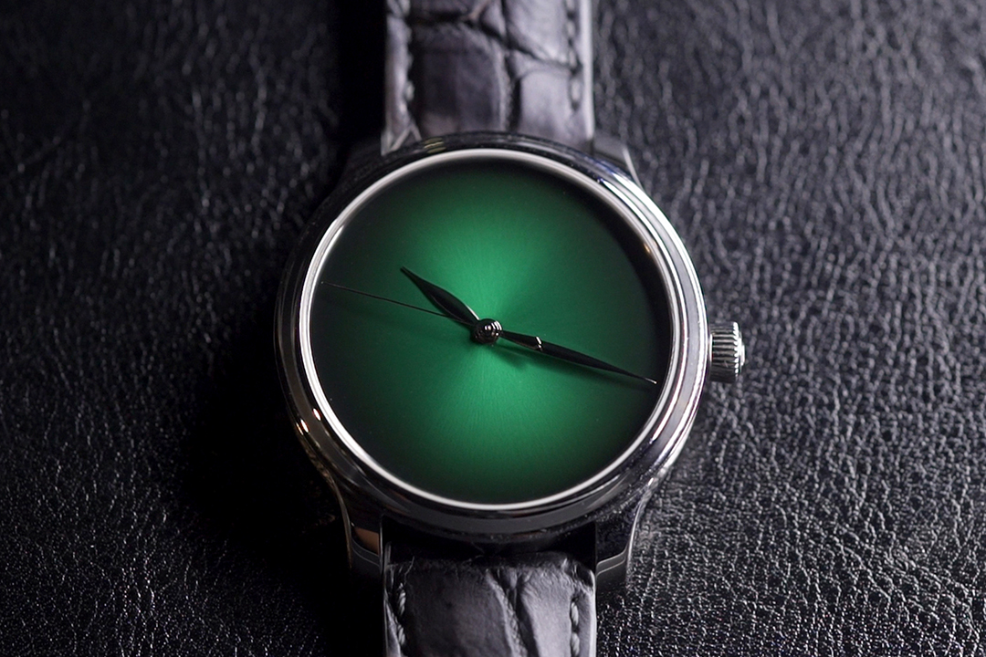 Endeavour Centre Seconds Concept Cosmic Green白金限量版,全球僅推出20枚,售價港幣178,000。