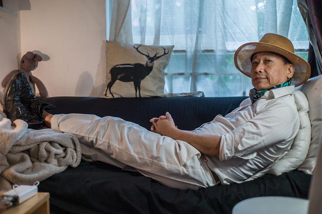 楊立德在大陸生活15年了,他喜歡被稱作「資深創意人」。