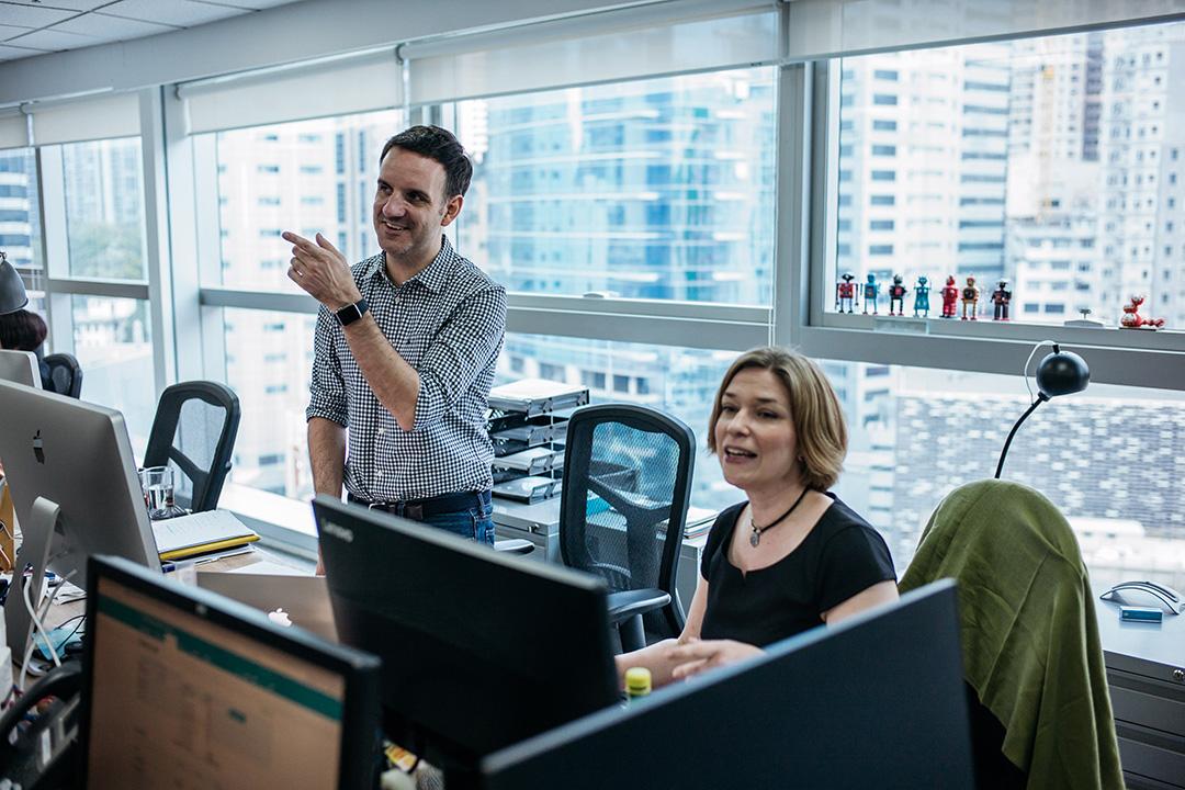 在香港從事會計業的Paul Gardner。