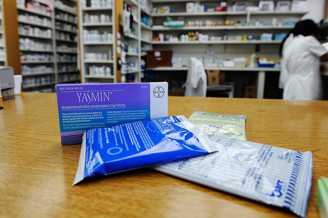 研究指男性服用避孕藥的副作用比女性多。