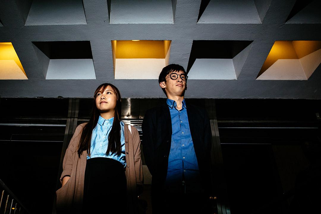 律政司就青年新政兩名立法會議員梁頌恆、游蕙禎宣誓而提出司法覆核。