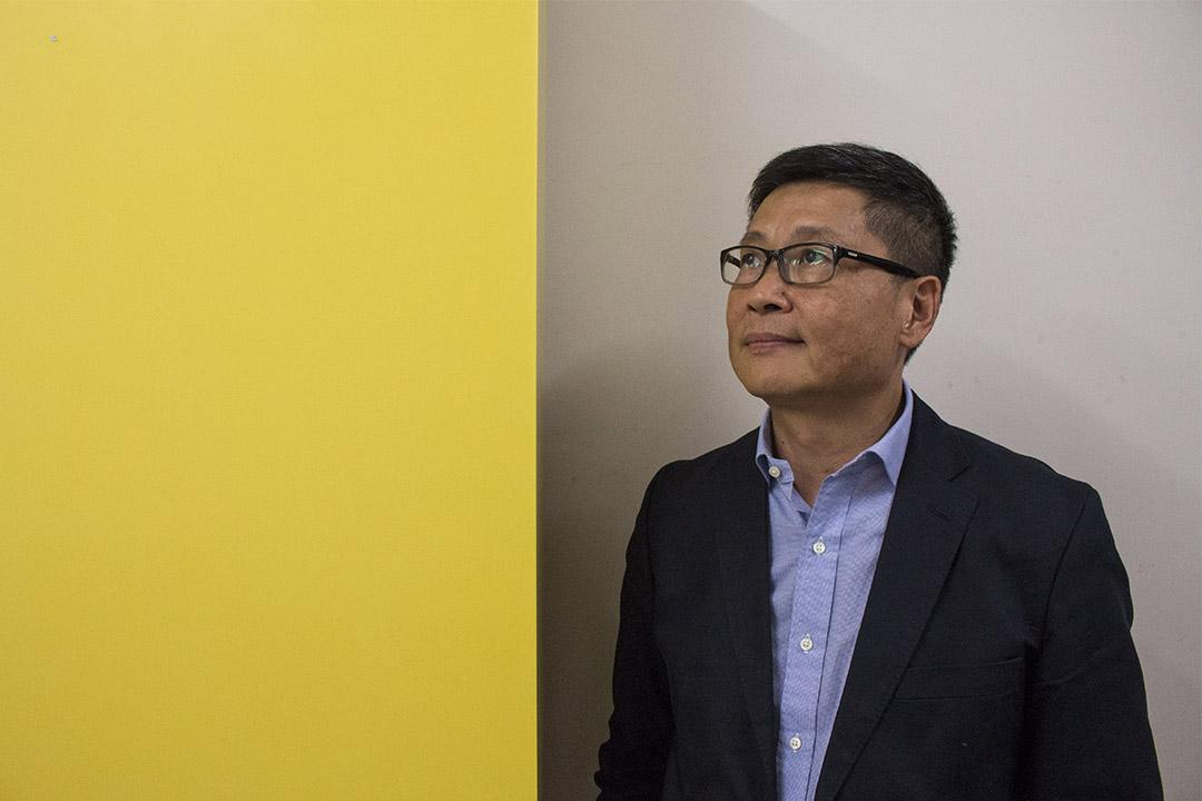「讓愛與和平佔領中環」的發起人之一陳健民教授。