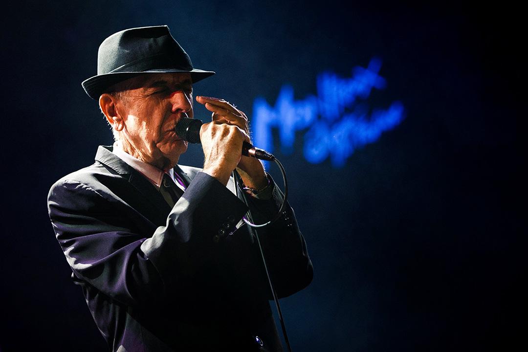 加拿大民謠詩人 Leonard Cohen 。