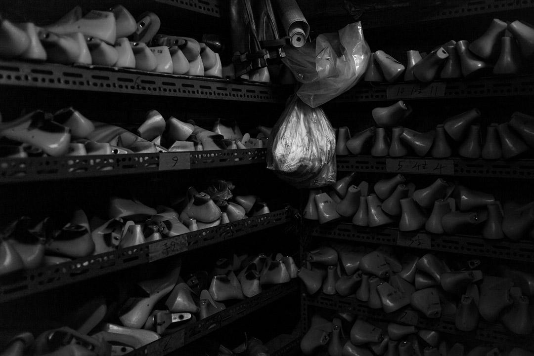 鞋廠一角。