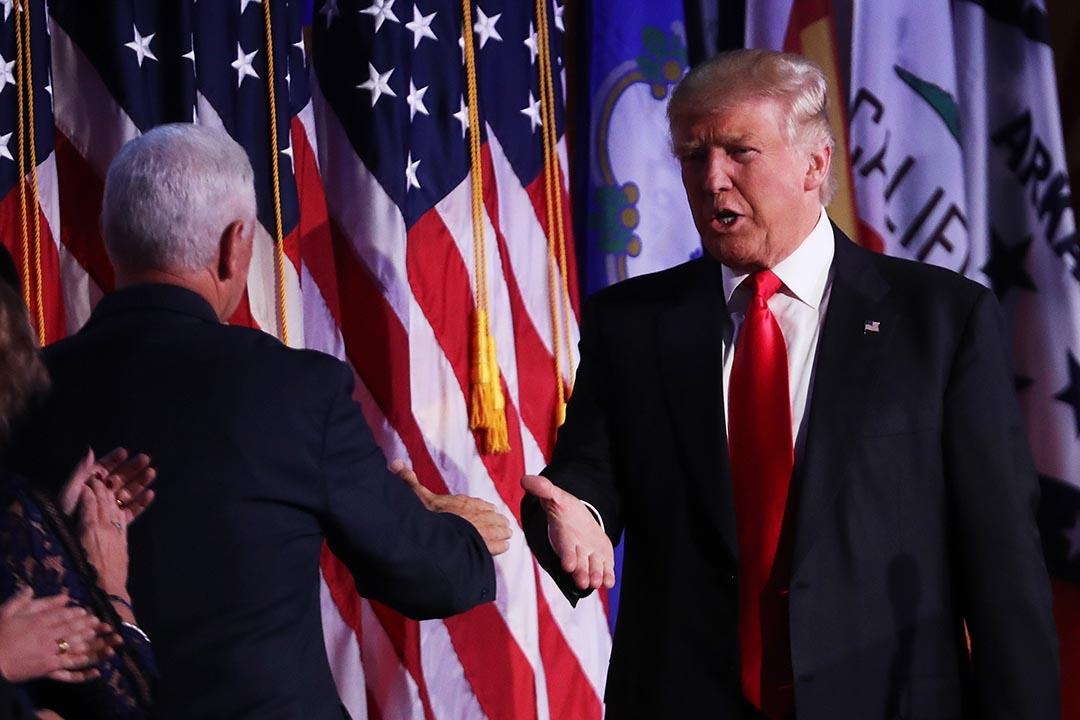 勝出2016美國大選的特朗普(Donald Trump)。