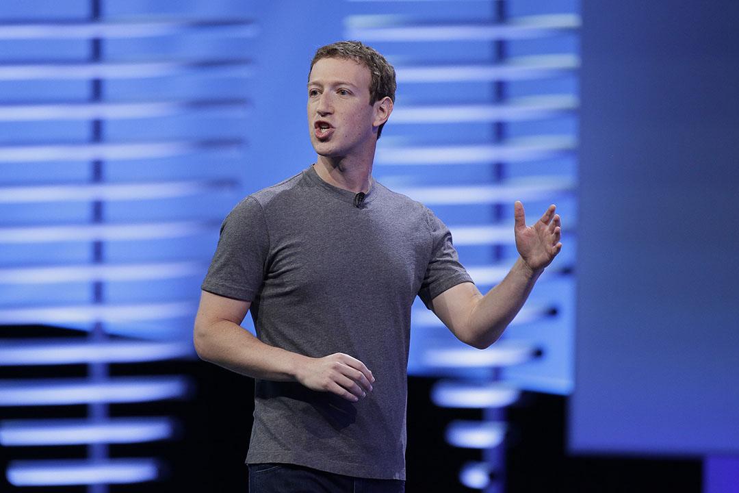 Facebook創始人朱克伯格(Mark Zuckerberg)。
