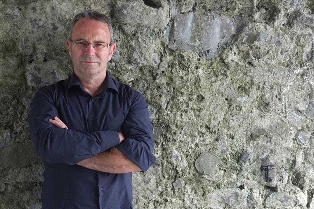 愛爾蘭作家Mike McCormack。