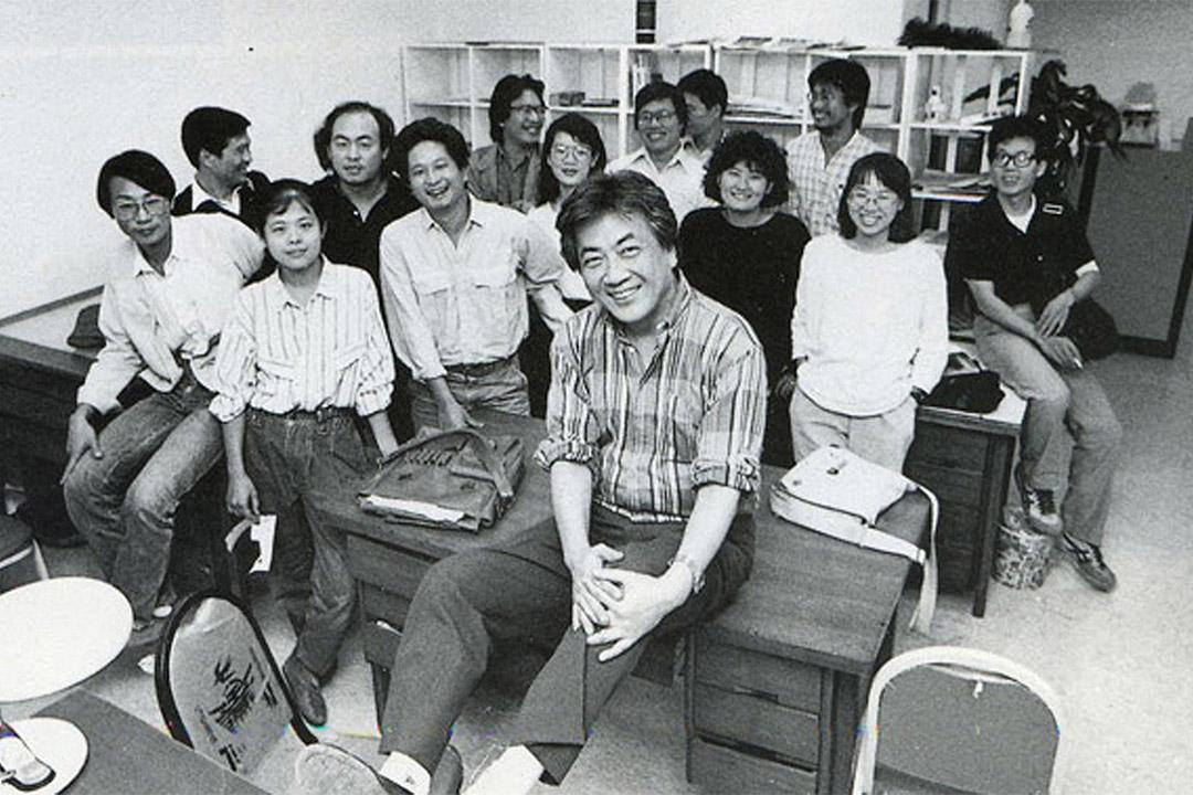 八十年代於台灣創辦《人間》雜誌的陳映真。
