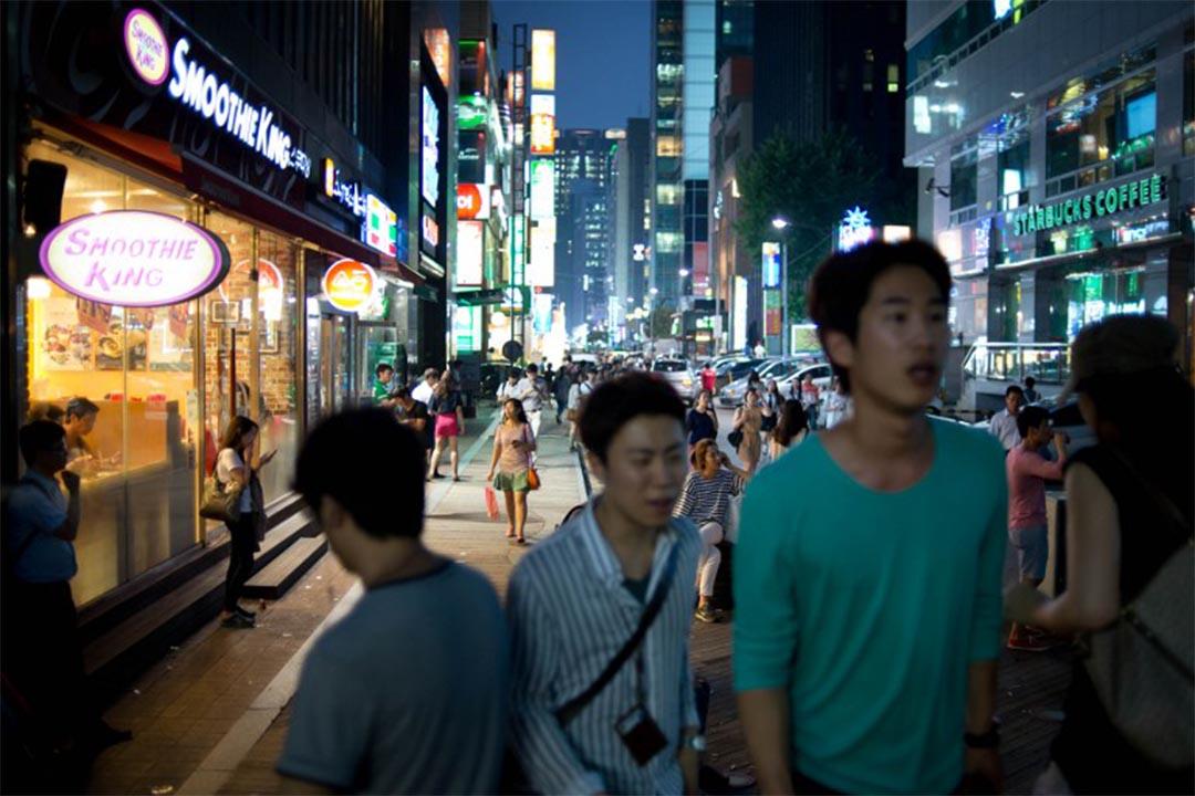 韓國首爾江南區。