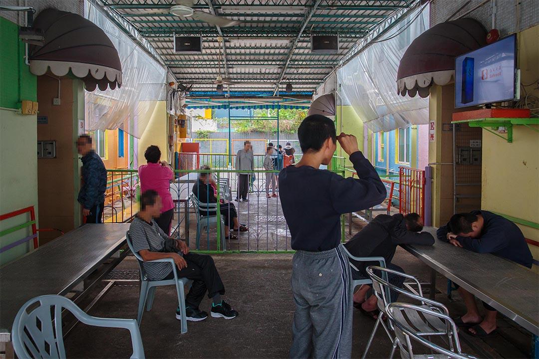 位於元朗新圍村的私營殘疾人士院舍東海愛兒之家。