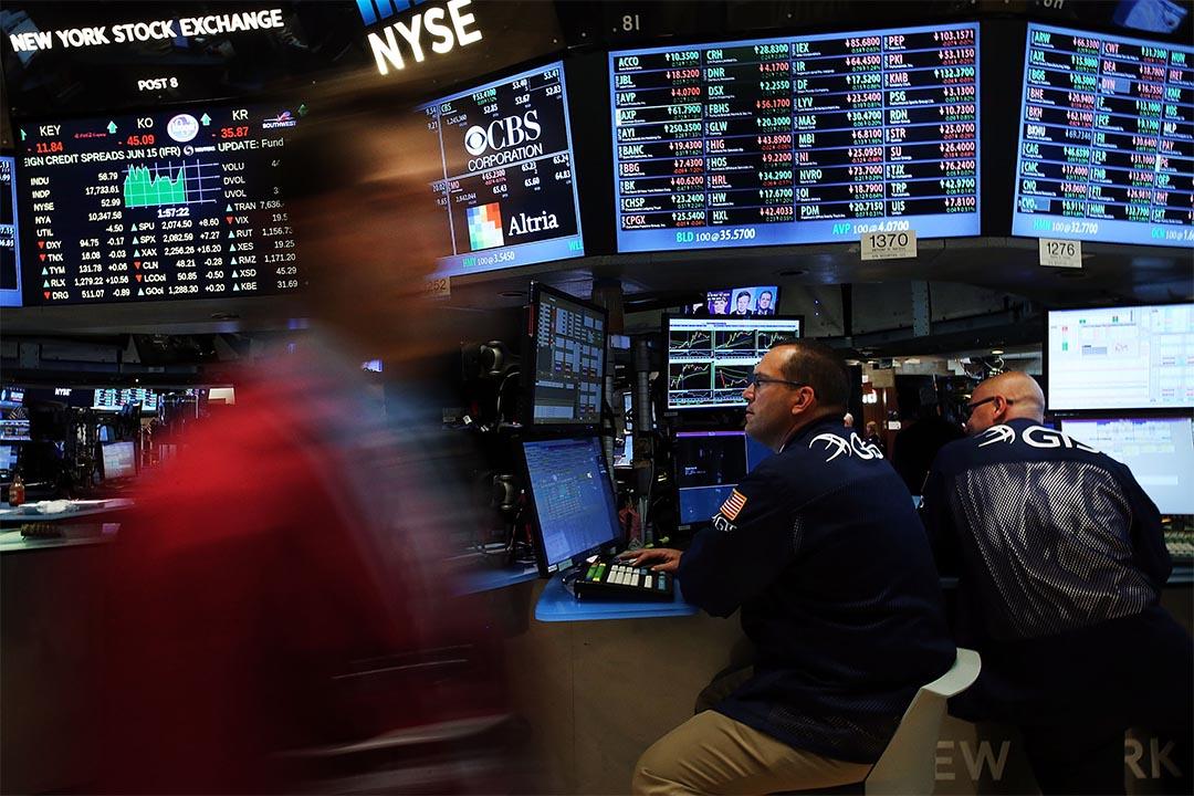 圖為紐約證券交易所。