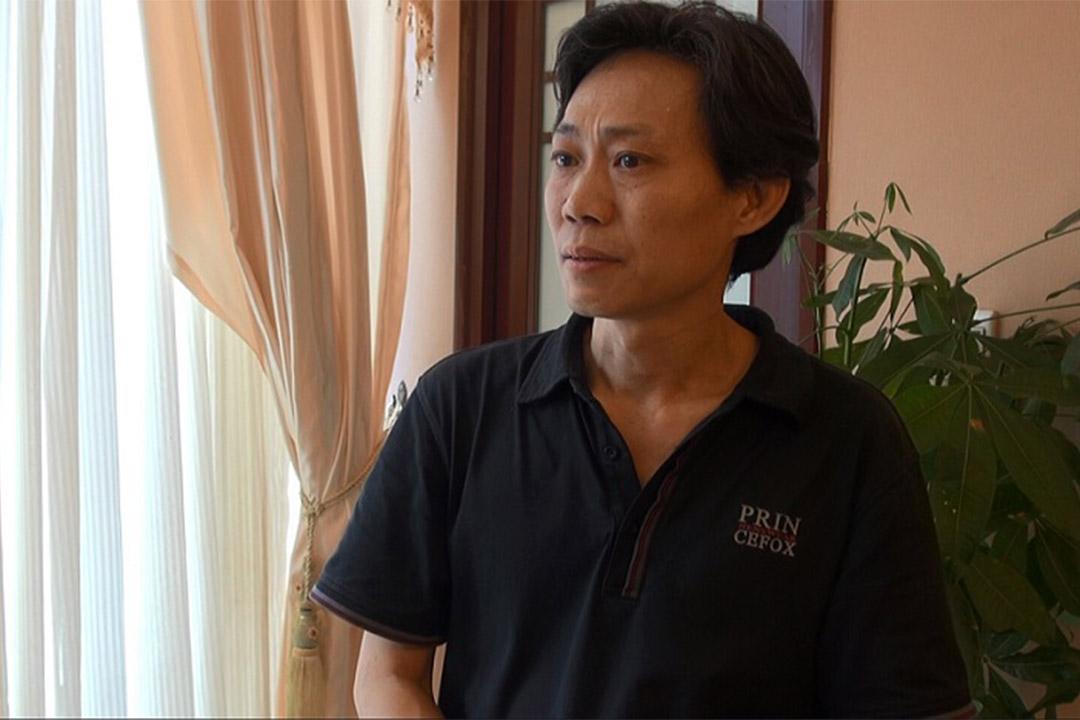 廣東勞工維權人士孟晗。