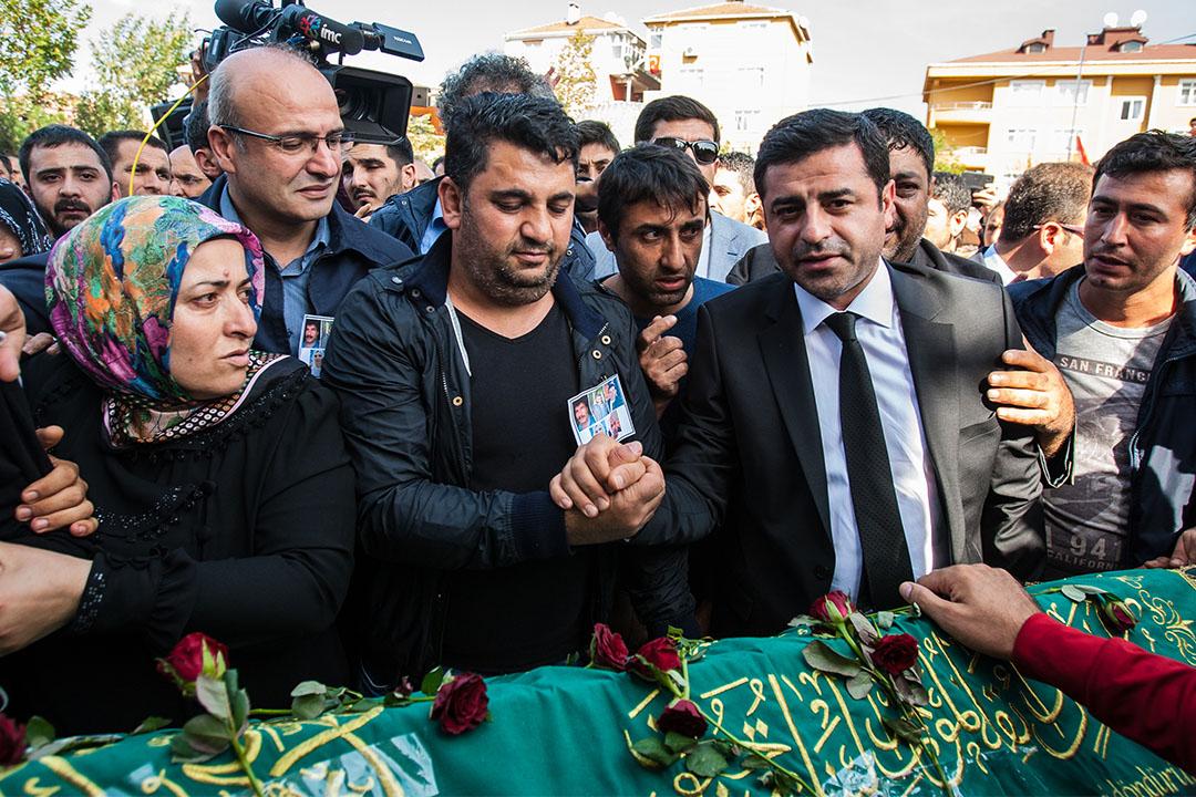 土耳其親庫爾德政黨領導人塞拉赫丁•德米爾塔( Selahattin Demirtas)。