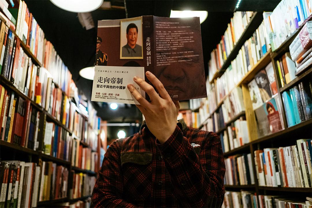 香港人民公社書店老闆鄧子強。