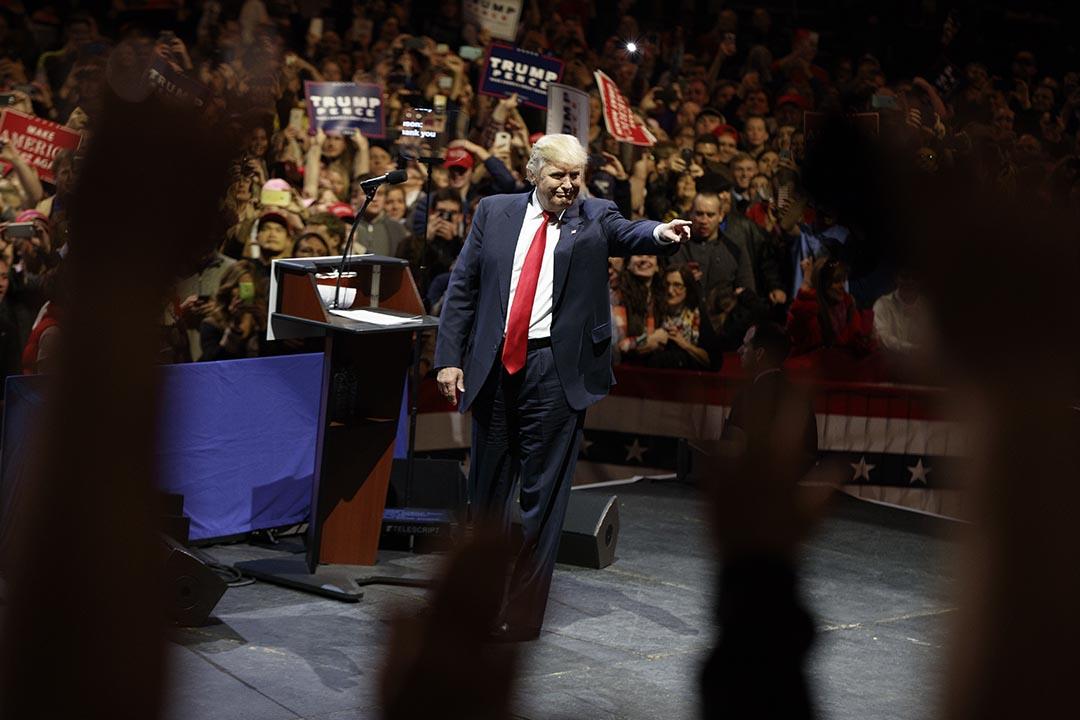 美國候任總統特朗普。