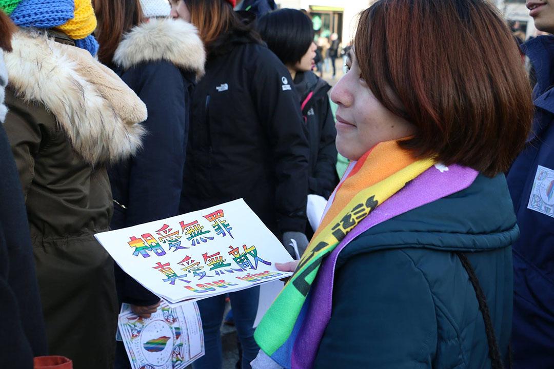 這場活動由二十多位住在德國的台灣人發起的。