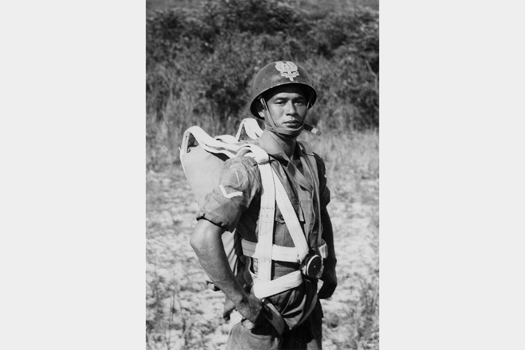 Ben Dalgleish外祖父葉廣鎏從軍時的舊照。
